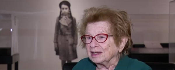 Dr. Ruth Reflects on Escaping Nazi Germany 80 Years After the Kindertransport