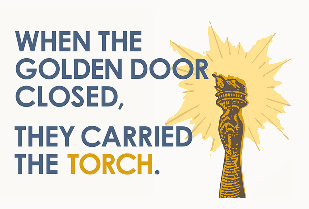 When The Golden Door Closed, They Carried The Torch